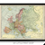 Vintage 1906 Map of Europe