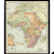 Vintage 1906 Map of Africa