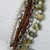 Antique Silver Chain Multi Strand Pearls Seed Beads Dragonfly Charm Mop Shell