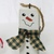 Scrap Wood Snowman Ornaments