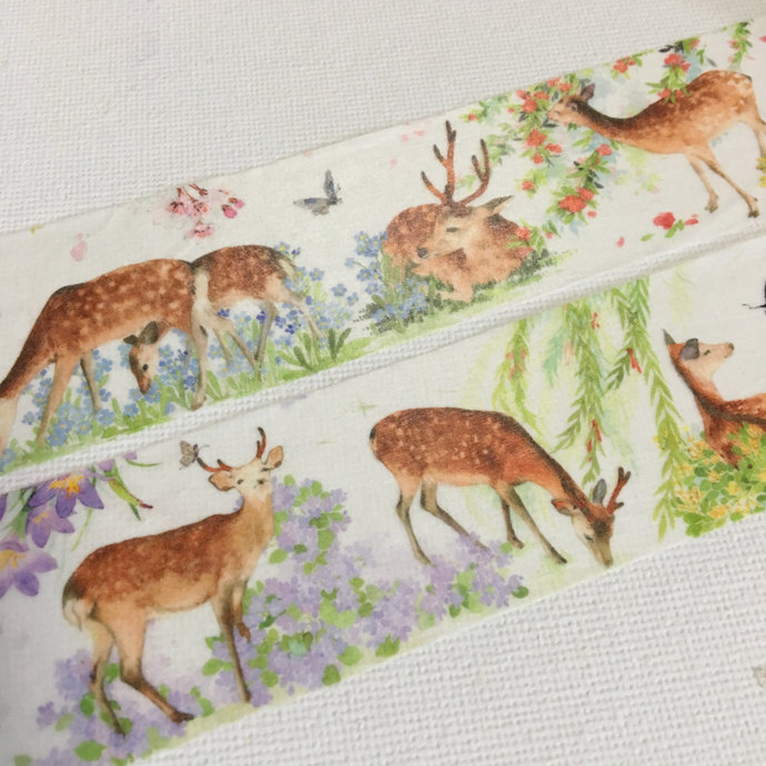 1 Roll ofLimited Edition Washi Tape: Nara's Lovely Deers