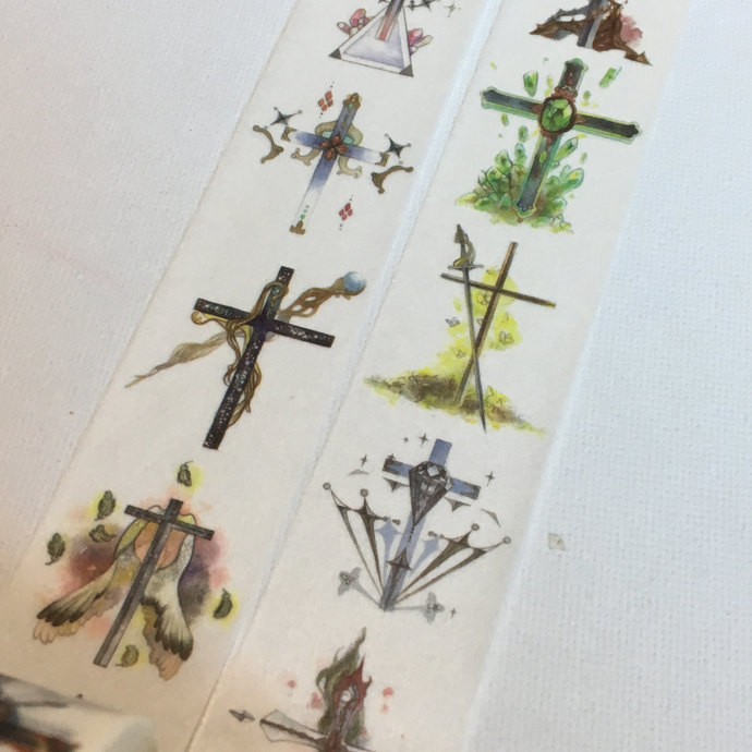 1 Roll of Limited Edition Washi Tape: The Cross