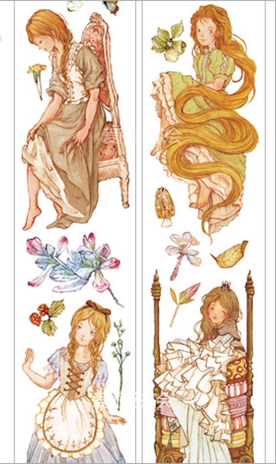 1 Roll Limited Edition Washi Tape: Fairyland Princess