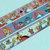 3 Rolls of Japanese Washi Tape : Disney Alice in Wonderland