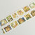 1 Roll of Limited Edition Washi Tape Roll- Working Animals