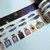 1 Roll of Limited Edition Washi Tape (Pick 1) : Night, Feathers, or Perfume