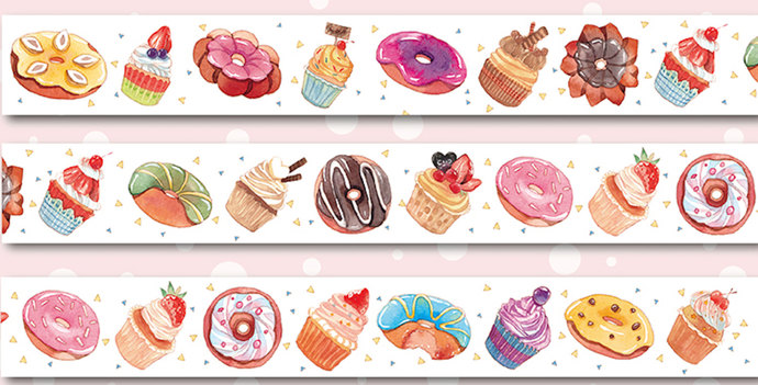 1 Roll Limited Edition Washi Tape: Daily Sweet