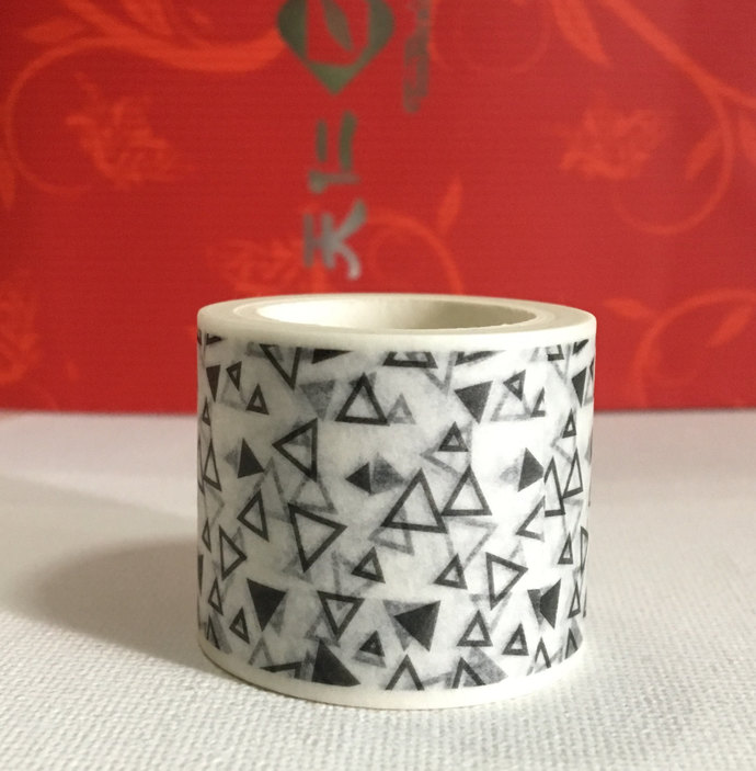 LAST ONE: 1 Roll Limited Edition Washi Tape- Triangles