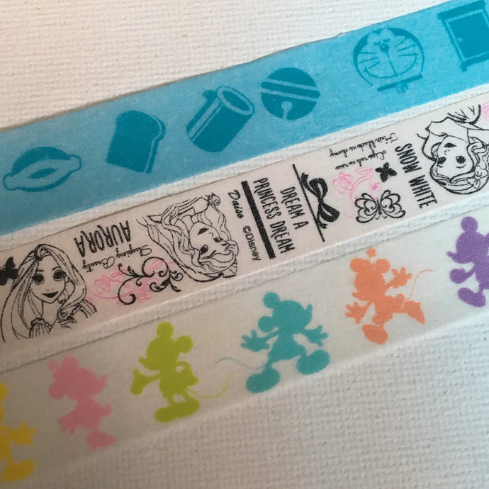 1 Roll of Japanese Anime/ Japan Disney Washi Tape (Pick 1) : Doraemon , Disney