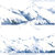 1 Roll Limited Edition Washi Tape: Snow Mountain