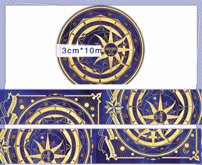 1 Roll Limited Edition Washi Tape:  Magic Array