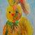 Original ACEO Watercolor Painting: My Bunny No.2