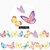 1 Roll Limited Edition Washi Tape: Butterfly