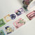 1 Roll of Limited Edition Washi Tape- Cassette tapes with Flower