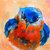 Original ACEO Watercolor Painting- Eastern BlueBird