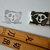 Thinking Panda- Handmade Unmounted Rubber stamp