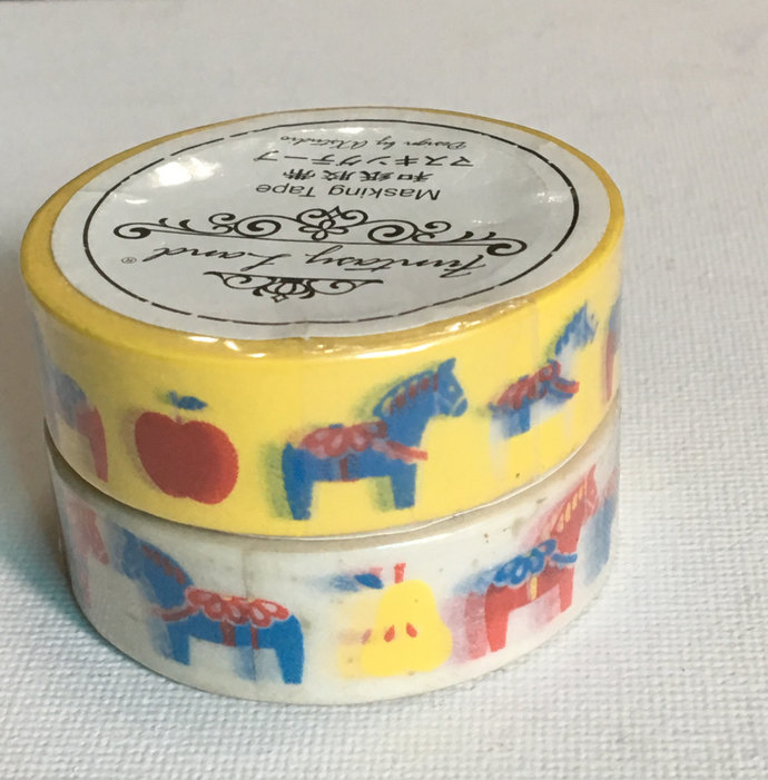 Washi Tape (Pick 1): Dala Horse