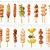 1 Roll of Limited Edition Washi Tape: Yummy BBQ