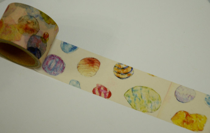 1 Roll of Japanese Washi Masking Paper Tape -Sea Shell