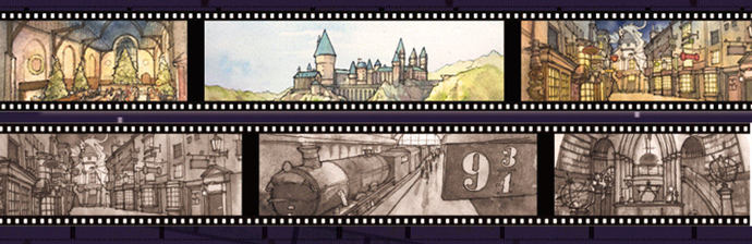 1 Roll of Limited Edition Washi Tape: Harry Potter's Street and School Sites