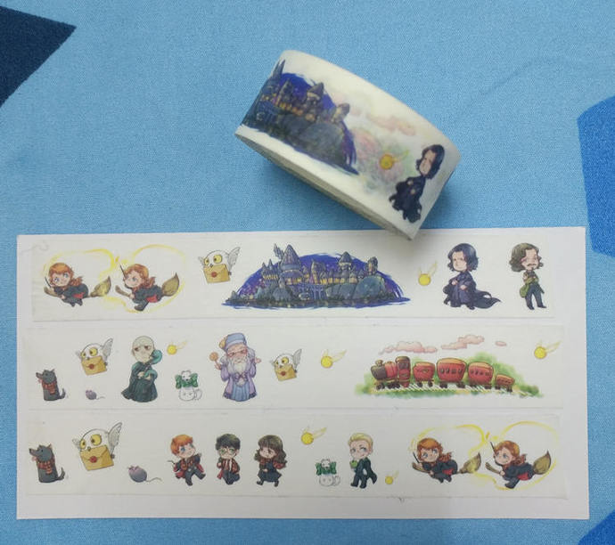 1 Roll Limited Edition Washi Tape: Harry Potter