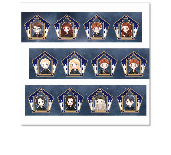 1 Roll of Limited Edition Washi Tape: Harry Potter's and Friends' Portraits