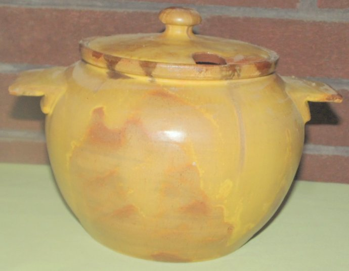 Vintage Brown County Potter Soup Tureen with Lid