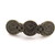 Barrette with Clocks and Gears Bronze Button Barrette FREE US Shipping