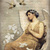 Angel and Doves Digital Collage Greeting Card961