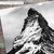 Black And White Snowy Mountain Prints, Mountain Wall Art, Mountain Photography,