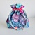 Cotton Drawstring Pouch Lunch Bag Flowers Kate Spain