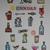 Original block print, hand carved rubber stamps, bar décor, cocktails, barware,