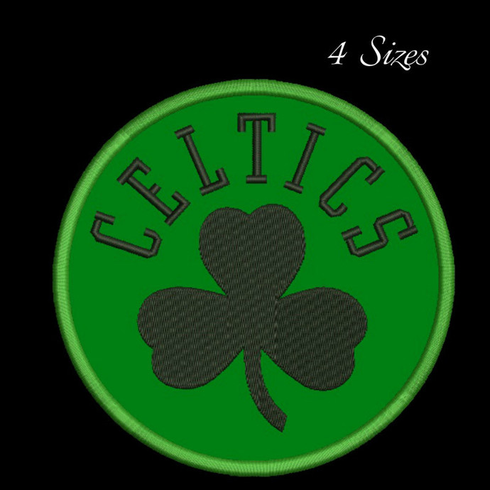 Celtics embroidery designs pes files in the hoop