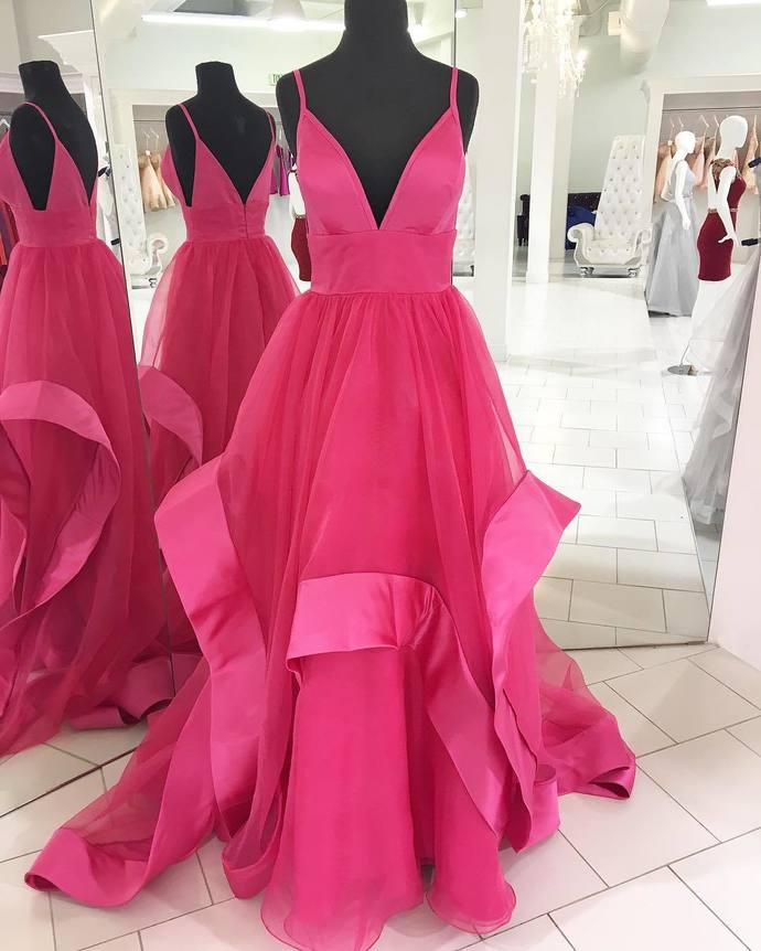 Newest Spaghetti Straps Prom Dresses,Long Prom   Morebeauty