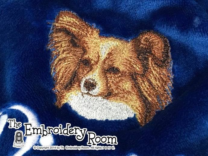 Papilion Blanket - Family Size Blanket - Personalized