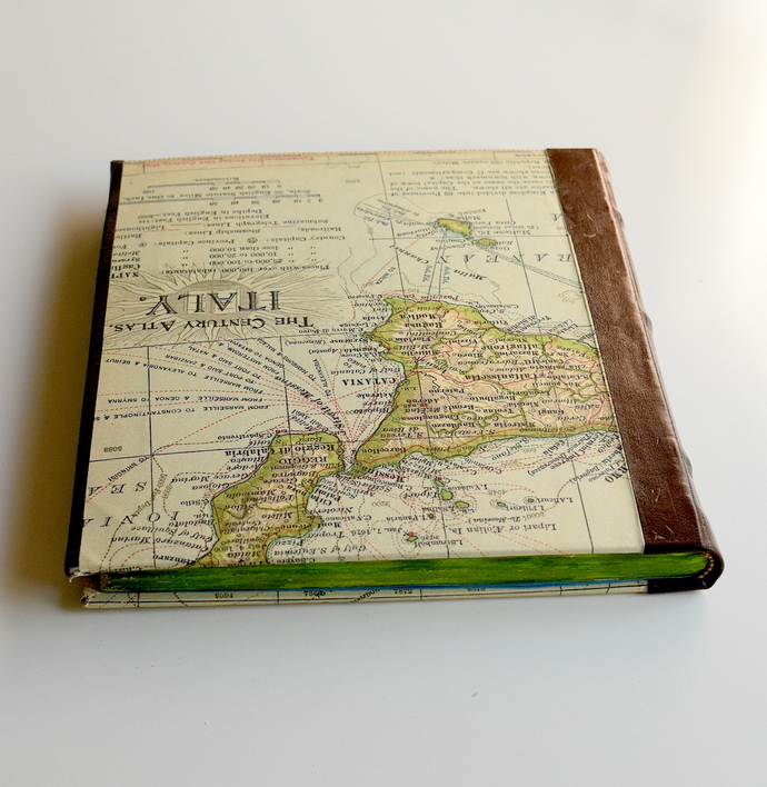 Italy Map Journal, Travel Journal