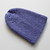 Purple Wool Beanie for Toddler or Older Baby Ready to Ship