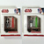 Star Wars Glowing Lightsaber 1G USB Flash Drive w/ LED Light Set Of 2 (RED +