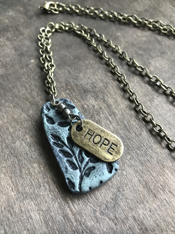 Made to Order Hope/Love Necklace