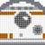 BB-8   Digital Download   Geek Cross Stitch Pattern   Star Wars Pattern
