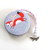 Tape Measure with Foxes Wearing Scarves Retractable Measuring Tape