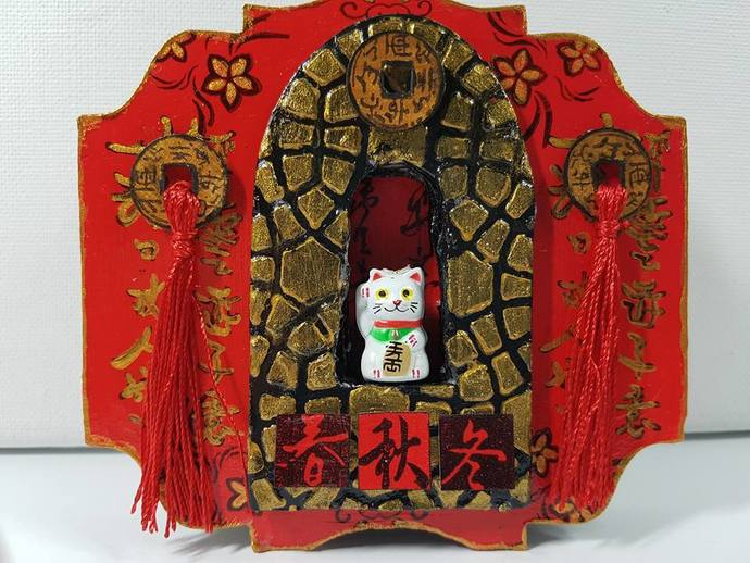 Lucky Cat Shrine