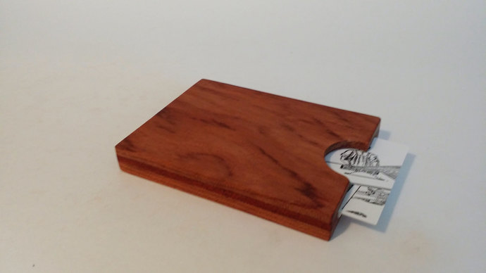 Bubinga and bloodwood wallet by ben marvin woodworking on zibbet bubinga and bloodwood wallet credit card business card holder wallet sleeve reheart Image collections
