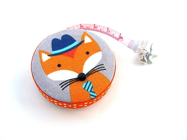 Tape Measure with Foxes Retractable Measuring Tape