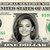 MIRANDA KERR on Real Dollar Bill Cash Money Collectible Memorabilia Celebrity