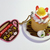 Japan Import Dessert Cake (w/ Sliced Strawberries) Figure Cell Phone / Bag Charm