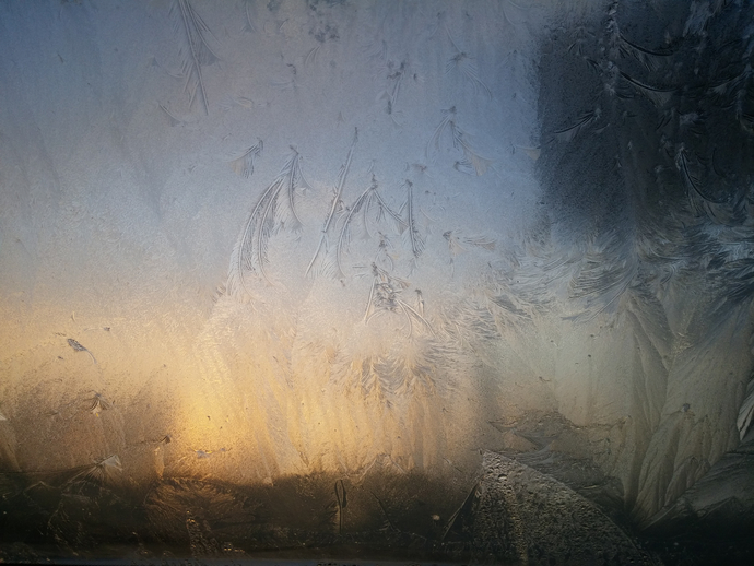 Frozen Window Photo (printable)