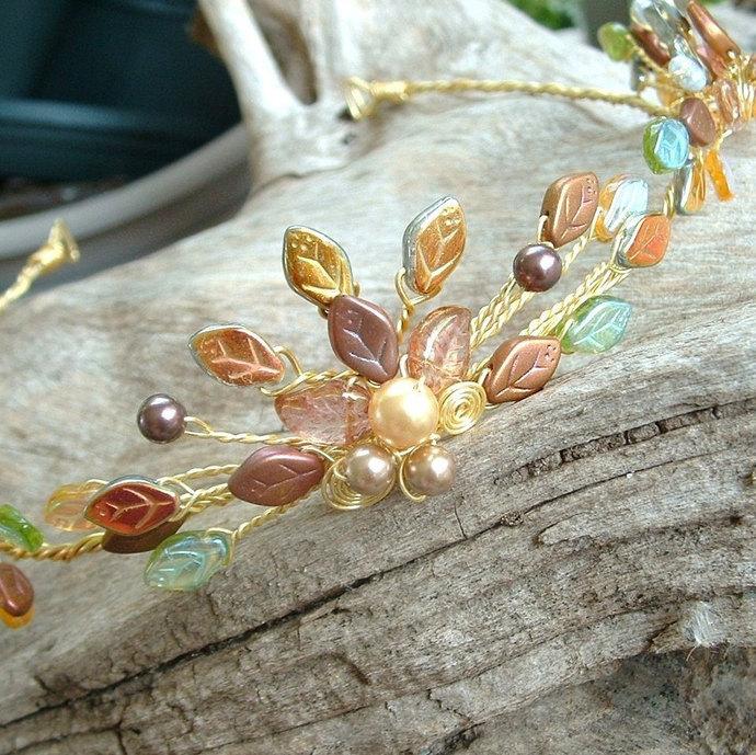 Titanias Dream Fairy Flame Tiara Crown