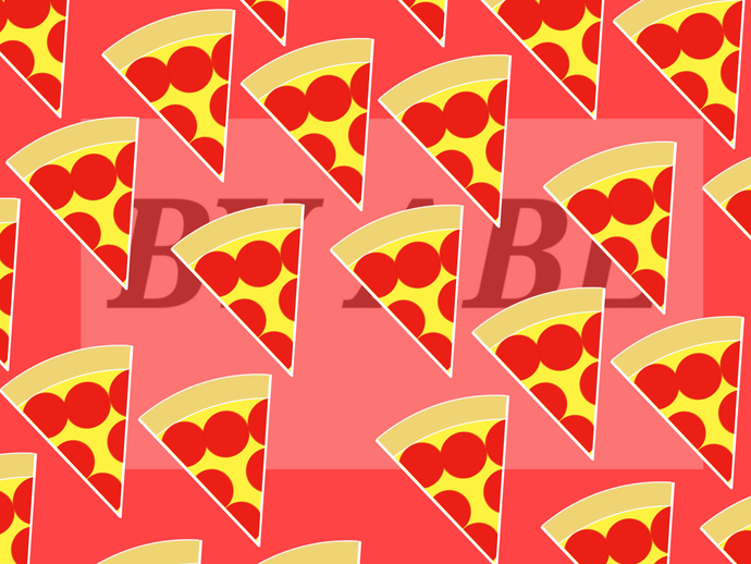 image relating to Printable Pizza identified as Printable Pizza Patern