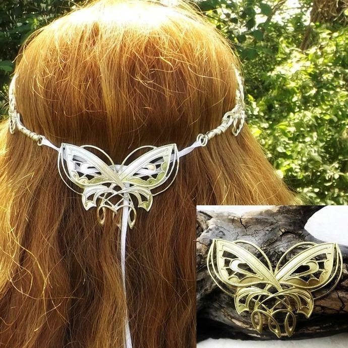 Fairy Tiara Beaded Hair Chain Tribal Dance Headdress